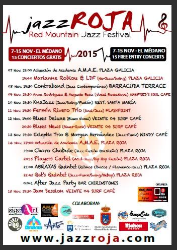 Jazz Roja 2015 cartel Low Res