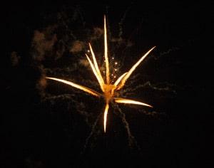 Feuerwerkseindrücke