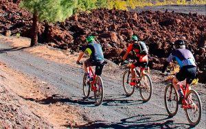Mountainbike fahren auf Teneriffa