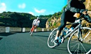 Rennradfahren auf Teneriffa.